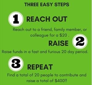 3 Steps 20x20
